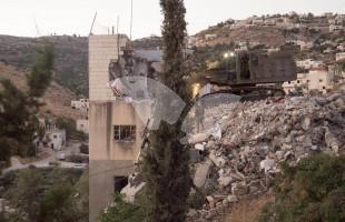 House Demolished in IDF Raid in Surif 27.7.16