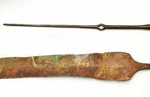 3,500-Year-Old Toggle Pin and Knife Head 23.8.16
