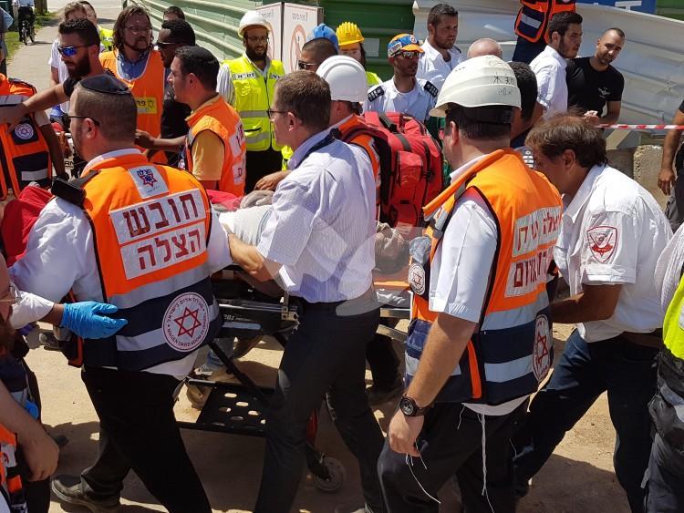 Building Collapse Site in Tel Aviv 5.9.16