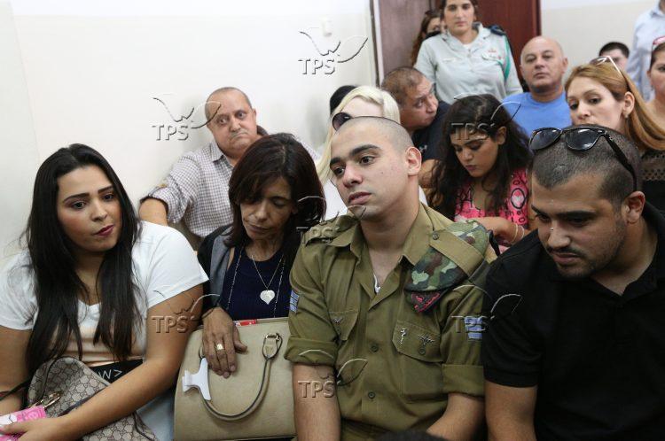 Hebron Shooter Elor Azaria During his Trial 28.8.16
