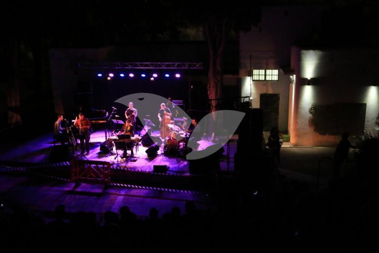 Shlomo Gronich & The Yellow Submarine Band Performing at Beit Yad Le-Banim in Kharamiyah Wadi, Mateh Binymain, Samaria