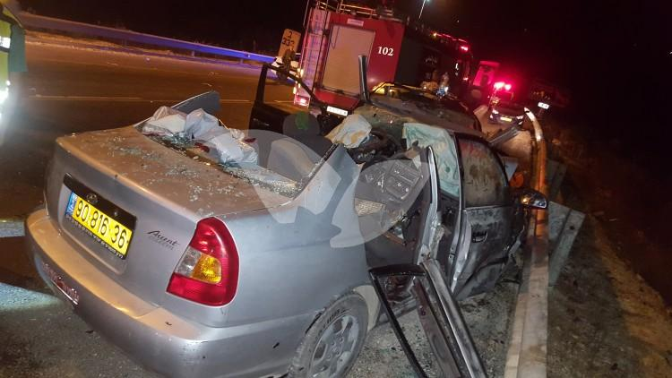 Deadly Car accident on Route 60 near the Rechelim
