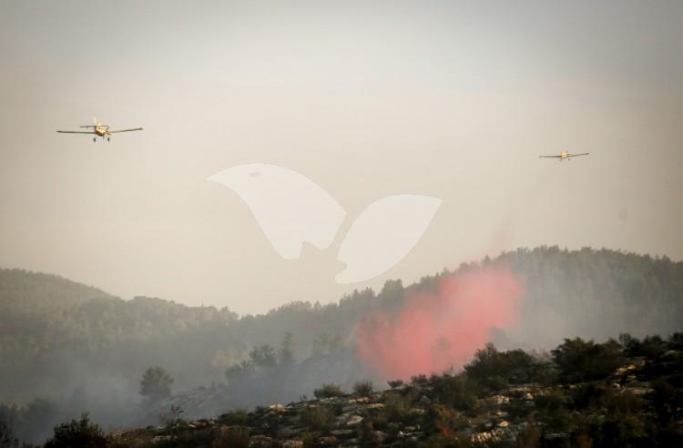 Brush Fire near Nataf, 23.11.16