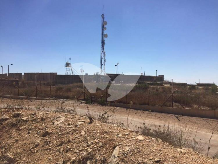 IDF Outpost on Lebanese Border