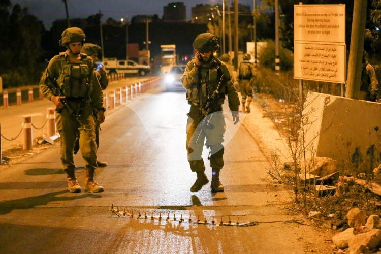IDF Forces at DCO Checkpoint near Beit El 31.10.16