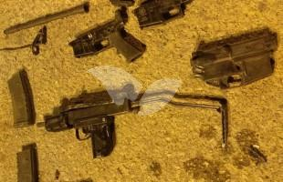 Weapon Parts Seized by the IDF During Nightly Raids in Judea and Samaria