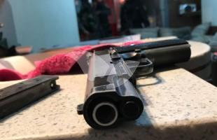 Illegal Weapon Seized During Police Raid in Shuafat