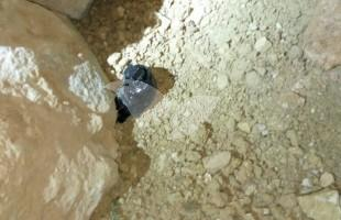 Improvised explosive devices (IEDs) seized in operations in Beit Awwa