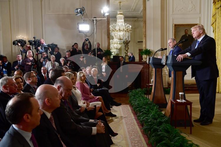 Bibi-Trump Press conference