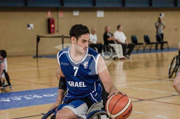 Wheelchair Basketball Star Asael Shabo
