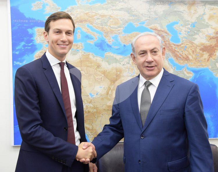 פגישת ראש הממשלה בנימין נתניהו עם ג'ריד קושנר בתל אביב. צילום- עמוס בן ג