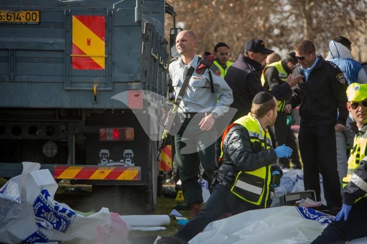 Truck Ramming Attack in Armon Hanatziv, Jerusalem