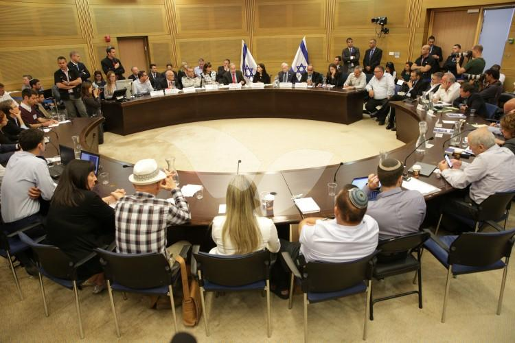 Prime Minister Netanyahu at the Knesset State Control Committee