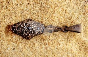 A stone pendant