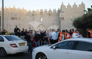 Attempted Stabbing Attack at Damascus Gate
