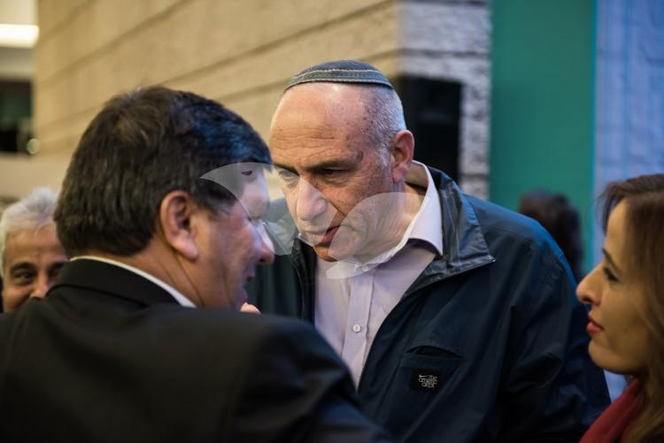 Moti Yogev at the Sixth Annual Conference of the Union of Local Authorities in Israel and the Jewish National Fund