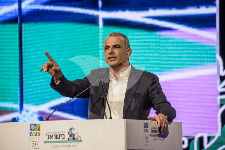 Moshe Kahlon at the Sixth Annual Conference of the Union of Local Authorities in Israel and the Jewish National Fund