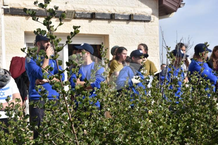Evacuation of the nine Ofra houses