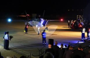 "IDF Welcomes first two ""Adir"" (F-35) aircraft at Netavim Airbase"
