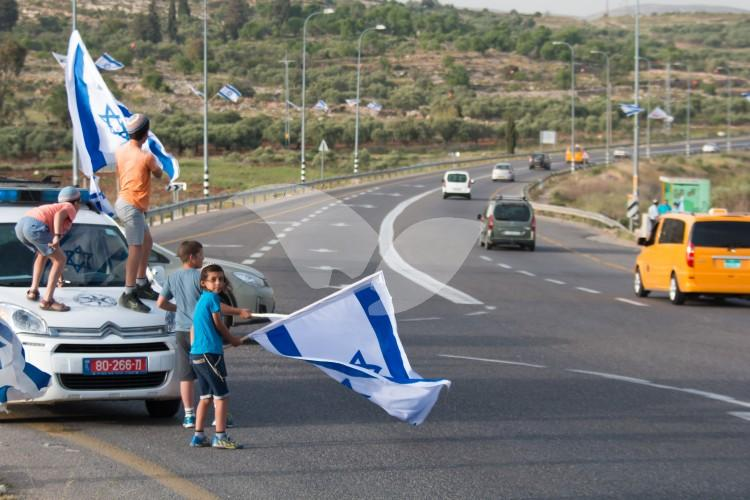 Mate Binyamin Residents Rally against Terror