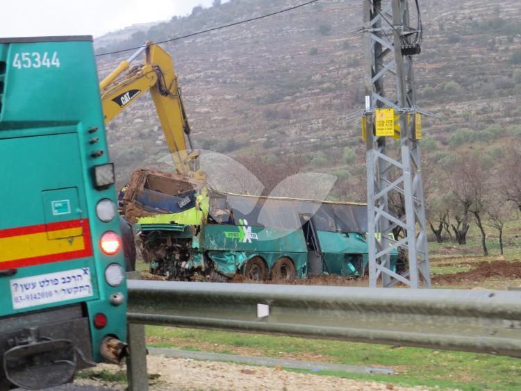 Deadly Bus Accident Near Maaleh Levona