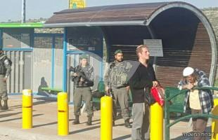 Border Police apparently foiled a stabbing attack at Tapuach Junction