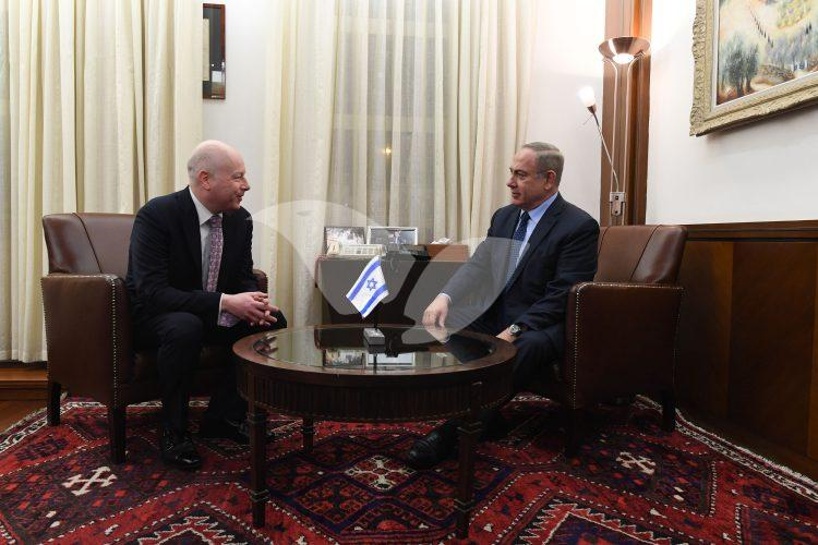 PM Netanyahu & Jason Greenblatt (1)