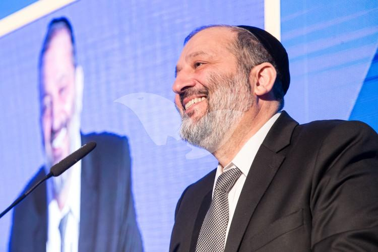 Minister of Interior Aryeh Deri