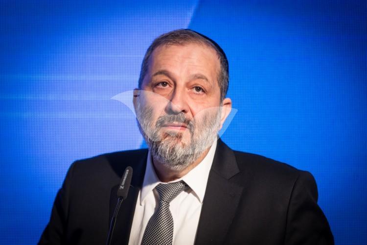 Minister of Interior Aryeh Deri