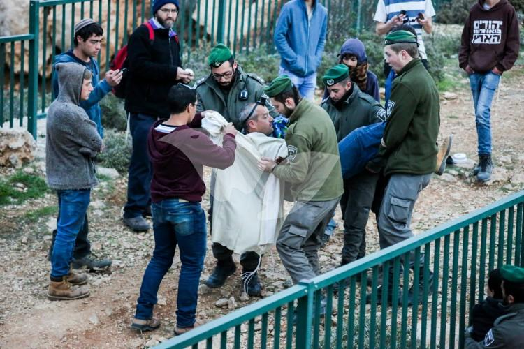 Evacuation of Ofra 28.2.17