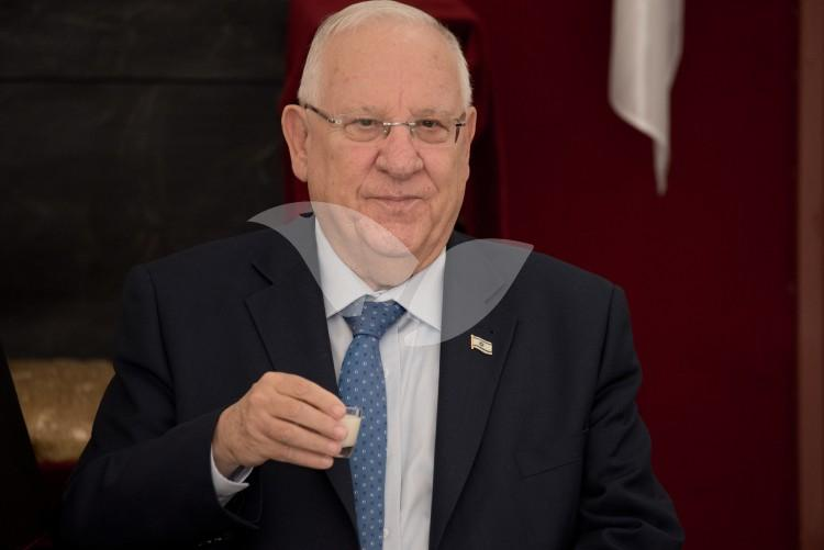 President Reuven Rivlin at the Greek Orthodox Church of Jerusalem 19.4.2017