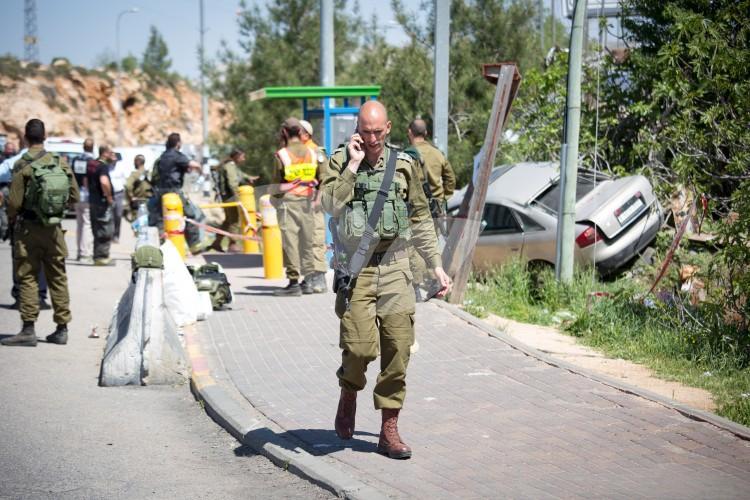Car Ramming Attack Ofra junction
