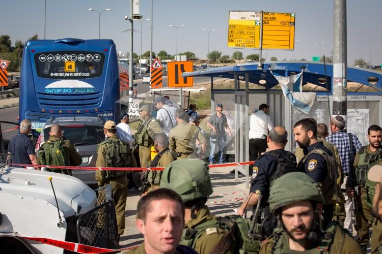 Car Ramming Attack at the Etzion junction