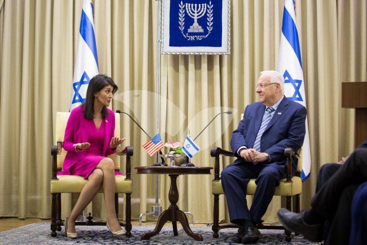 Nikki Haley in Israel