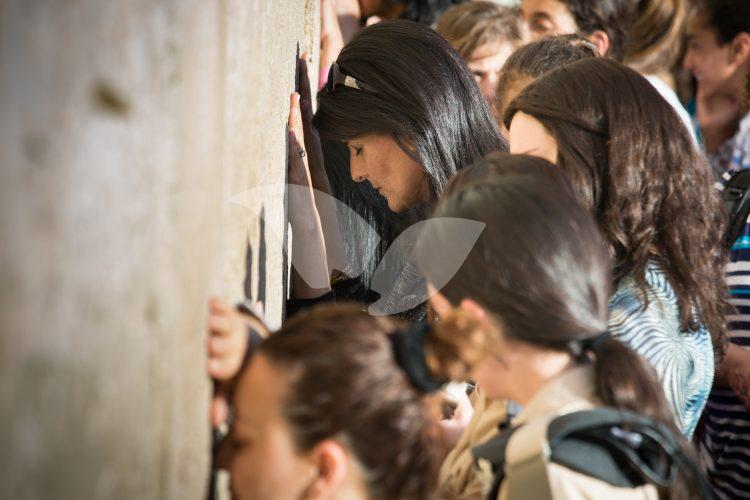 Nikki Haley At the western wall