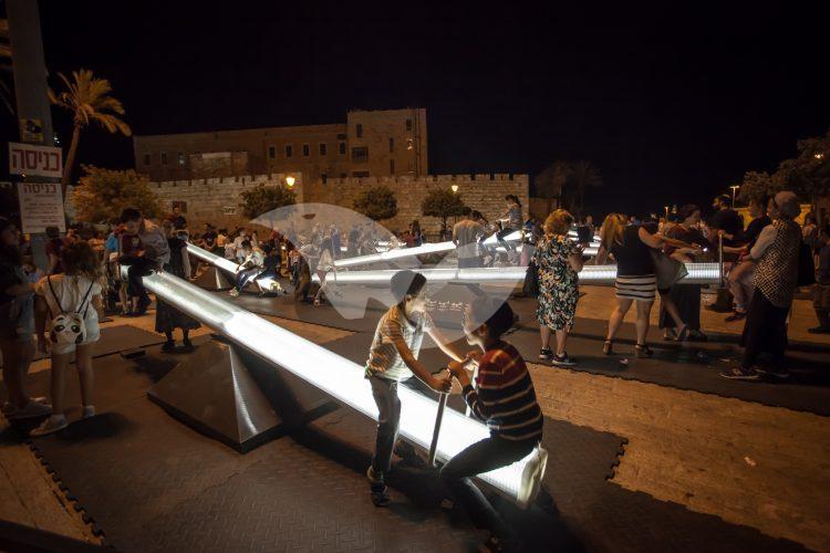 Festival of Light in Jerusalem 2017