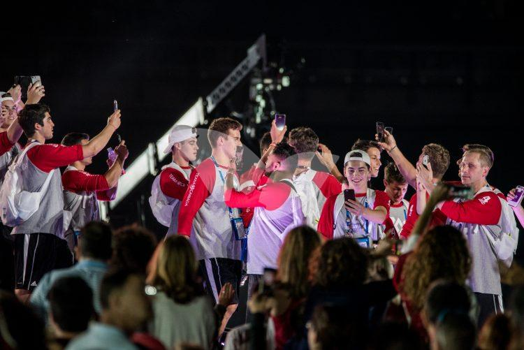 The opening ceremony of the Maccabiah Games