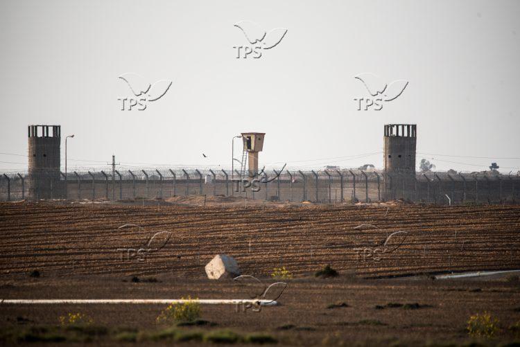An Egyptian guard post on Israel Egypt border