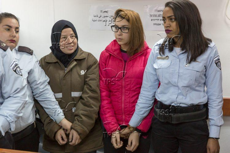 IDF Military Court Remands a Palestinian Provocator Ahed Tamimi
