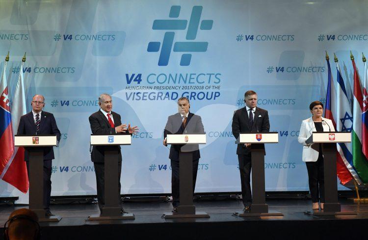 PM Netanyahu addresses Visegrad Group