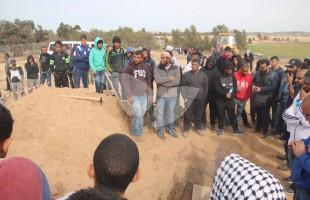 Funeral of Suspected Terrosit Ya'akub Musa Abu al-Qi'an in the Negev