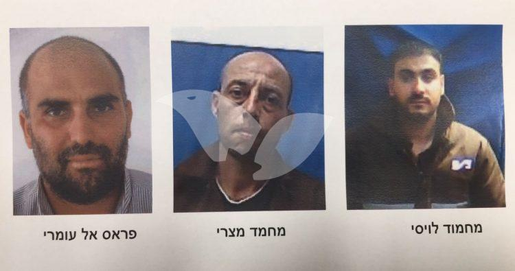 Terror Cell members who planned a shooting attack against IDF soldiers