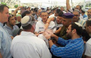 Brit Milah of Grandson to Terror Victim Avraham Hasano at al-Fawwar Junction, near Hebron