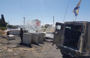 About 100 rioters are disrupting the Silwad village.
