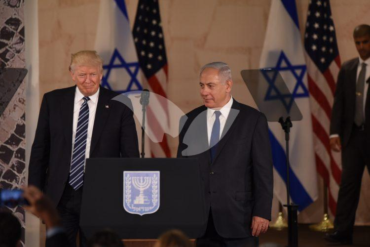 Donald Trump Speaks at Israel Museum in Jerusalem