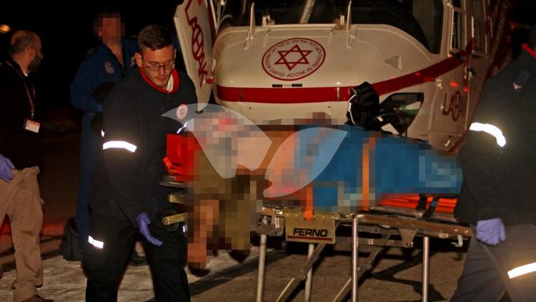IDF Soldier Injured in Jenin Being Brought In to Rambam Hospital
