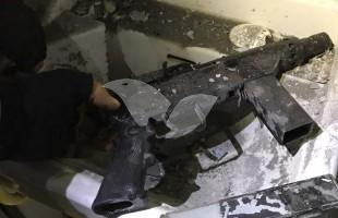 Weapons seized during Police and IDF Overnight Activity in Ramallah