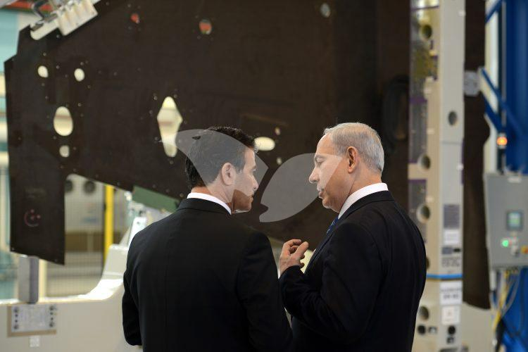 Mossad head Yossi Cohen and PM Binyamin Netanyahu