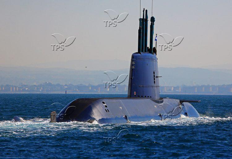 New Submarine of Israeli Navy