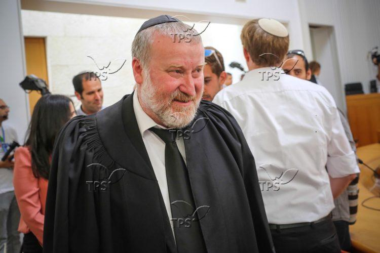 Elyakim Rubinstein's Resignation